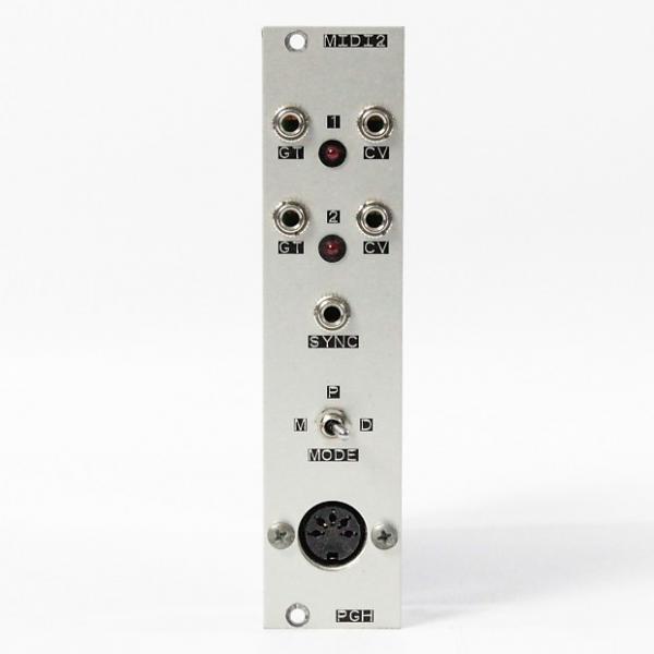 Custom Pittsburgh Modular MIDI2 Midi to CV converter Eurorack Module #1 image