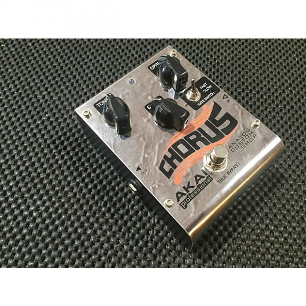 Custom Akai Professional Analog Custom Shop Analog Chorus Guitar Effects Pedal    Silver good cheap chorus #1 image