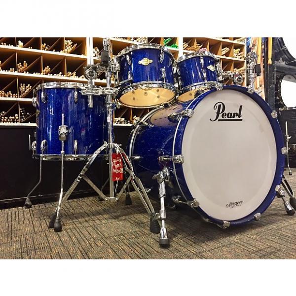 Custom Pearl Masters Premium Legend Blue Sparkle #1 image