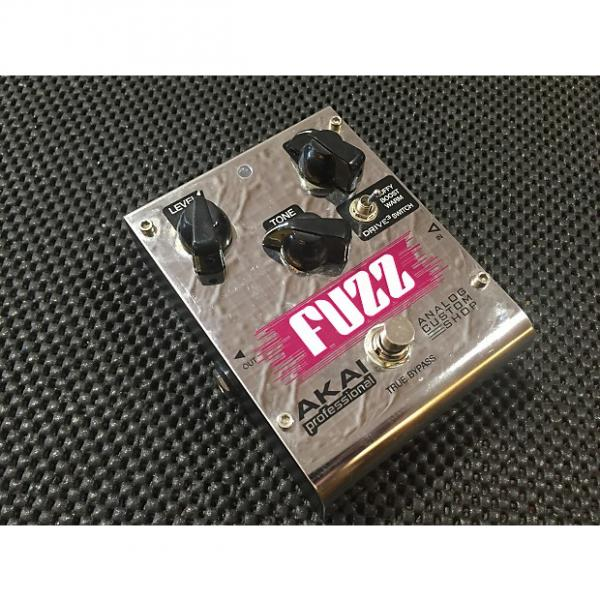 Custom Akai Fuzz Professional Analog Custom Shop Tri-Mode Fuzz Guitar Effects Pedal #1 image