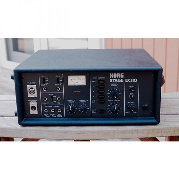 Custom Korg Stage Echo SE-300 Black #1 image