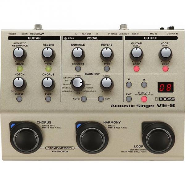 Custom BOSS VE-8 Voice Acoustic Singer Pedal #1 image