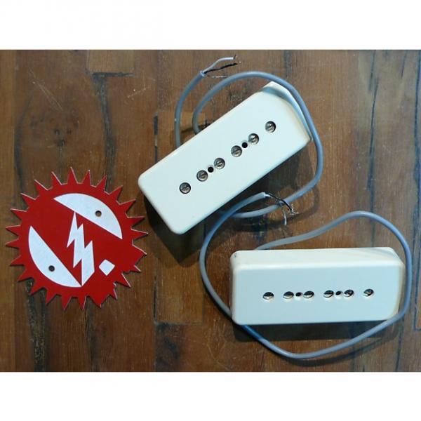 Custom Epiphone (Gibson) ES-339 P90 Cream Neck & Bridge Pickups Gently Used Tested / Working #1 image