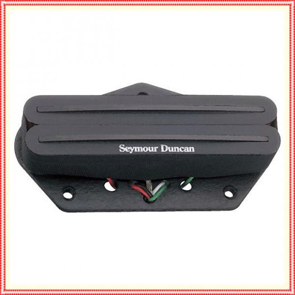 Custom Seymour Duncan STHR-1b Hot Rails Lead for Tele Guitar Bridge Pickup Black #1 image