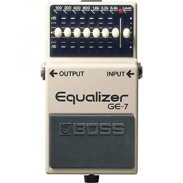Custom Boss GE-7 7-Band Graphic Equalizer #1 image