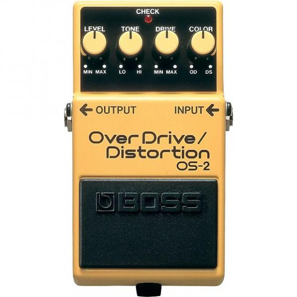Custom BOSS OS-2 OverDrive/Distortion Pedal #1 image