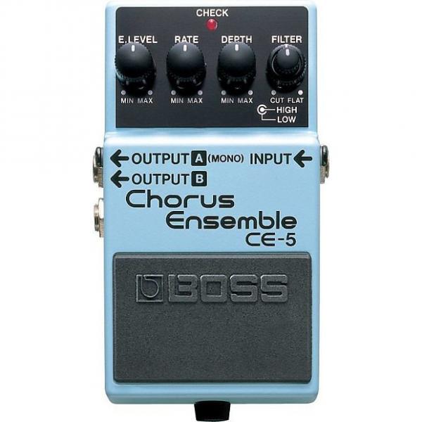Custom BOSS CE-5 Chorus Ensemble Pedal #1 image