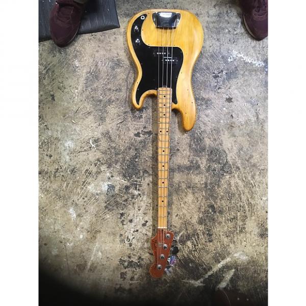 Custom Fender Precision bass 1978 Natural #1 image