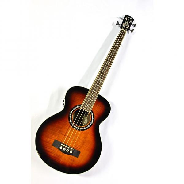 Custom Fender T-Bucket Grand Concert Acoustic/Electric Bass - 3-Tone Sunburst #1 image