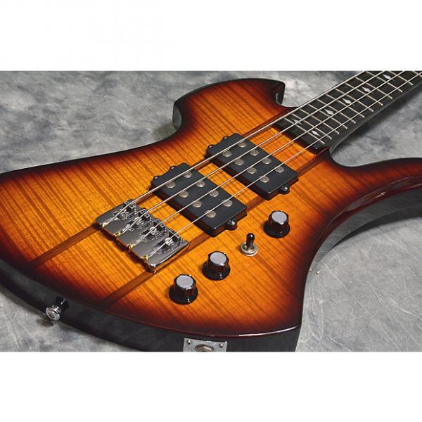 Custom B.C.Rich  Mockingbird ST Bass Tabacco Sunburst #1 image