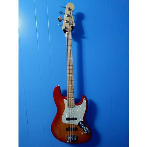 Custom Fender Jazz Bass 70s Reissue MIJ 2007? Amber Burst #1 image