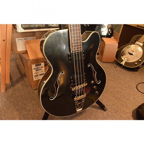 Custom Dean B1 Stylist Hollowbody Bass #1 image