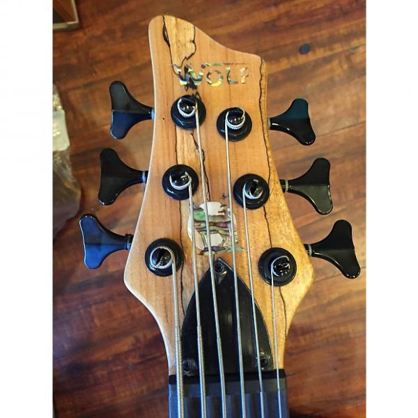 Custom 2017 Wolf Spalt6 Satin Spalt Maple 6 String Active/Passive Bass #1 image
