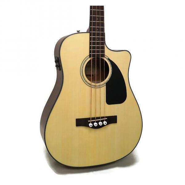 Custom Fender CB-100CE Dreadnought Cutaway Acoustic-Electric Bass #1 image
