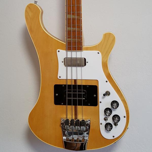 Custom 1976 Rickenbacker 4001 Mapleglo Vintage Electric Bass Guitar #1 image