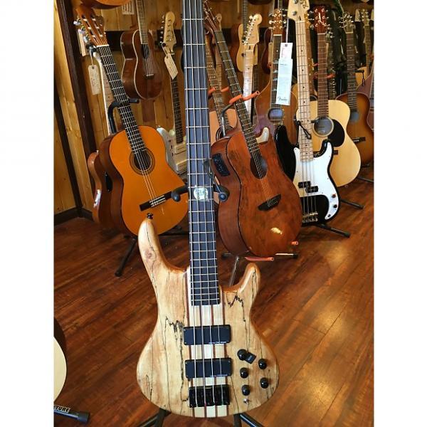 Custom 2017 Wolf Spalt4 Satin Spalt Maple 4 String Active/Passive Bass #1 image