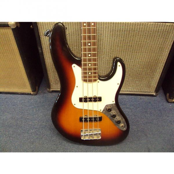 Custom Fender Jazz Bass USA  Electric Bass guitar Repair project or Play as is! 1989 Sunburst #1 image