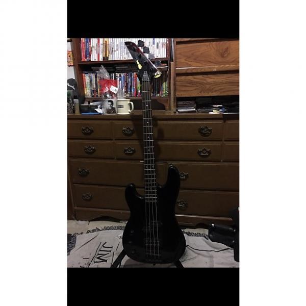 Custom Series 10 Left hand Bass P J Style 1985 Black #1 image