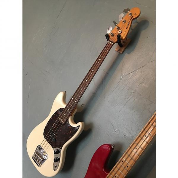 Custom Fender Mustang Bass CIJ 2007 White #1 image