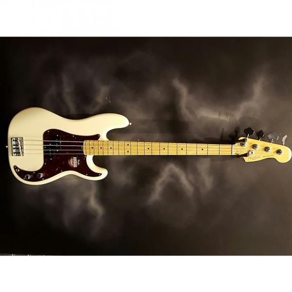 Custom Fender American Standard Precision Bass 2016 Olympic White #1 image
