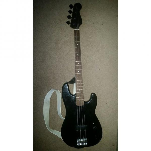Custom Fender Big Block P Bass  Black #1 image