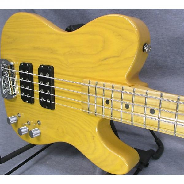 Custom 2017 USA made G&L ASAT Bass with Nitro finish #1 image