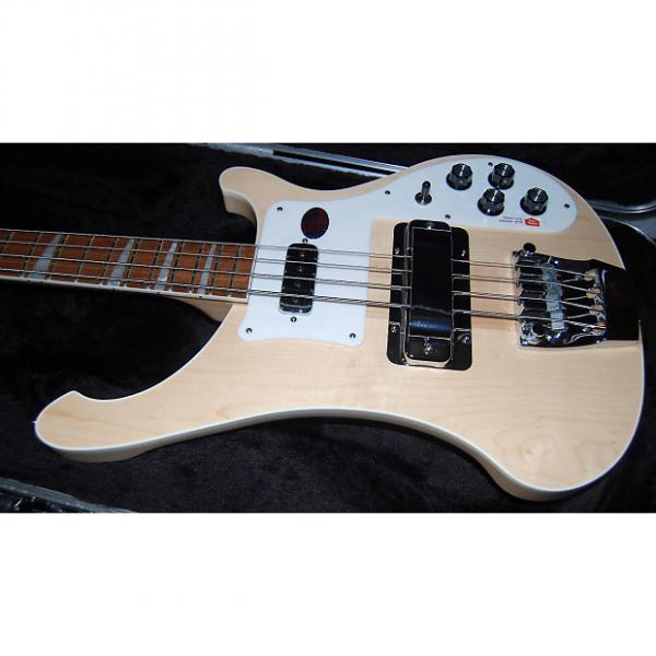Custom Rickenbacker 4003 2017 Maple Glo 4-String Electric Bass 100% Mint Unplayed Original Hardshell Case #1 image