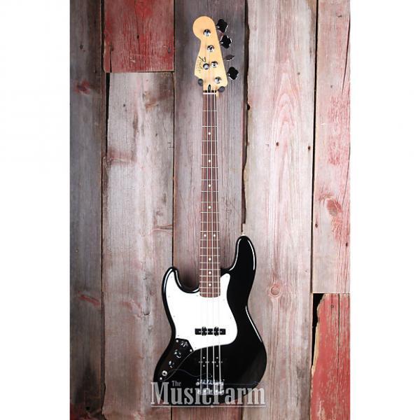 Custom Fender® Standard Jazz Bass Left Handed 4 String Electric Bass Guitar Lefty MIM #1 image