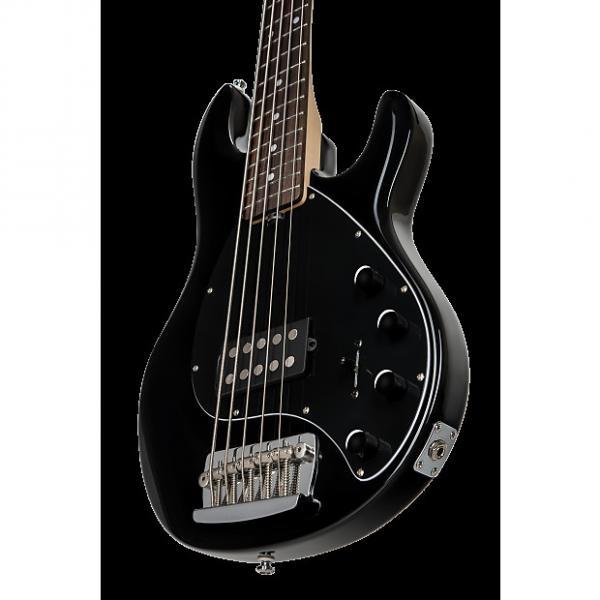 Custom Sterling by Music Man Ray35 StingRay 5 String Bass Black #1 image