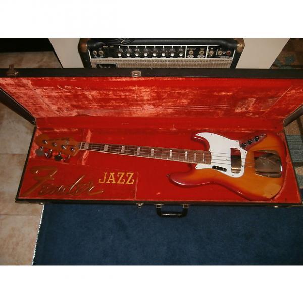 Custom Vintage 1978/1981 Fender Jazz Bass w/ Original Case! Sienna Sunburst w/ Rosewood! #1 image