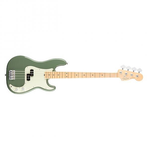 Custom Fender American Professional Series Precision Bass 0193612776 Antique Olive #1 image
