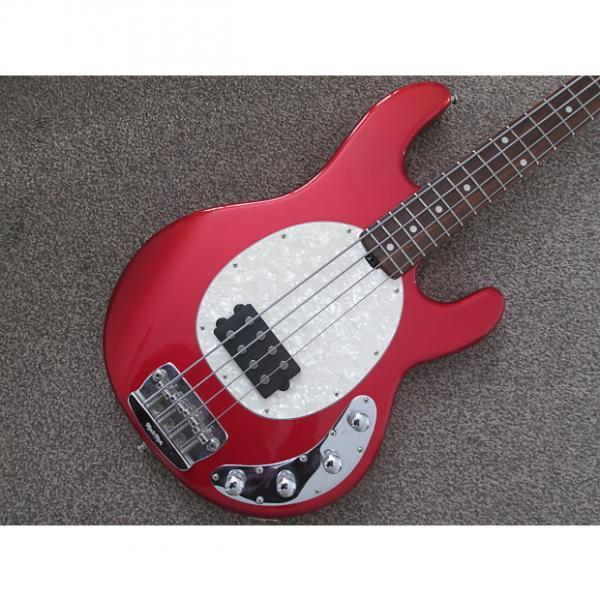 Custom Music Man Stingray 4 string bass - Limited Edition 2004 red #1 image