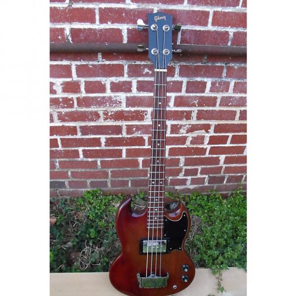 Custom Gibson EB-0  W/OHC 1973ish  Cherry #1 image