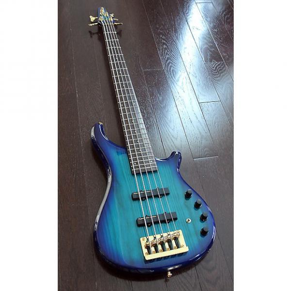 Custom TUNE Supernova Zi752 - BSB - 5 String Active Bass - Sunburst Blue - NEW Authorized Dealer #1 image