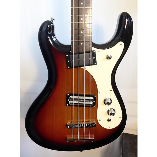Custom Danelectro The '64 Bass Guitar 3-Tone Sunburst Electric Bass Guitar #1 image