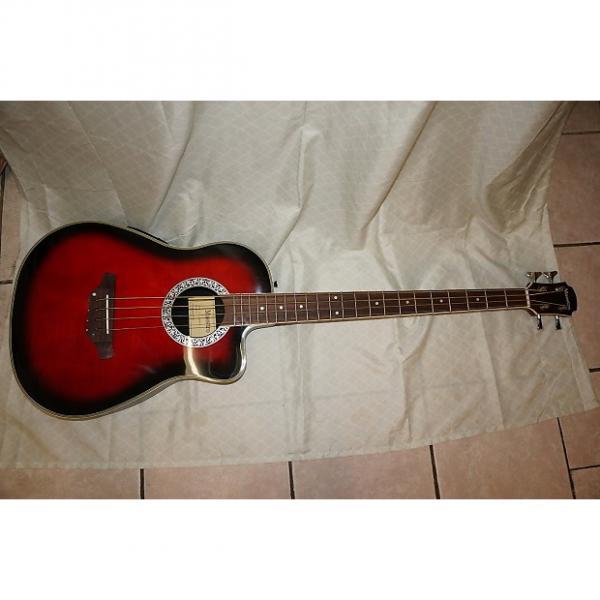 Custom Bass guitar, 4 string. round back. #1 image