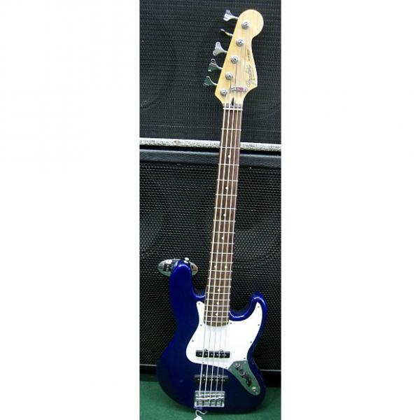 Custom Fender Standard Jazz Bass V Purple #1 image