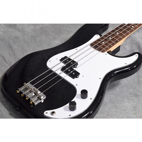 Custom Fender Japan Precision Bass Standard Black #1 image