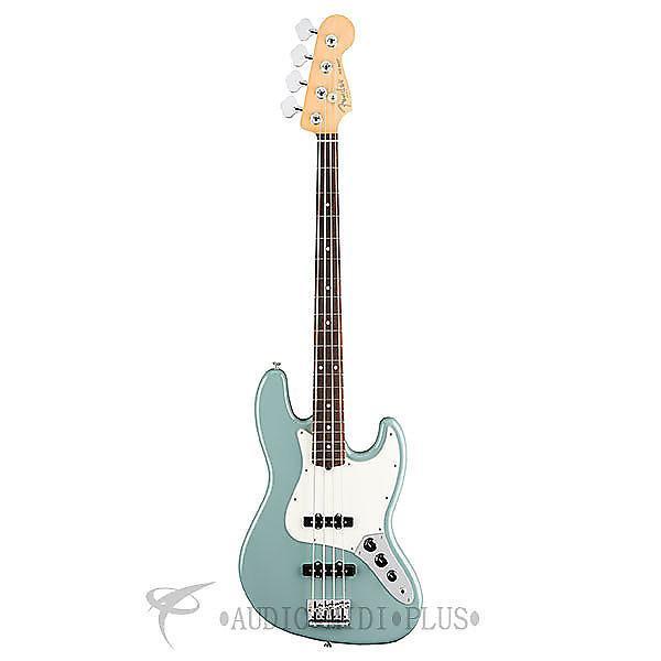 Custom Fender American Pro Jazz Bass Rosewood Fingerboard 4 String Electric Guitar Sonic Gray - 0193900748 #1 image