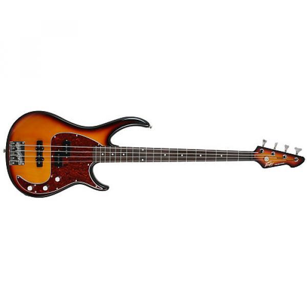 Custom Peavey MILESTONEVINTAGE Milestone Bass Guitar, Vintage Burst #1 image