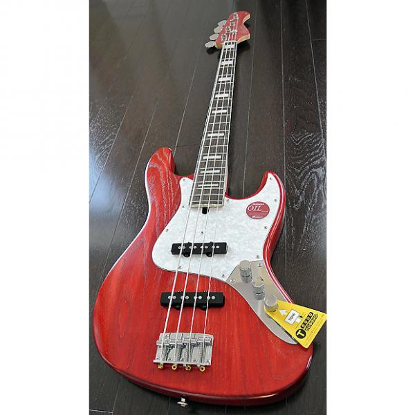 Custom Bacchus WL-JB ASH4 - NEW Made In Japan - Transparent Red - Last one available #1 image