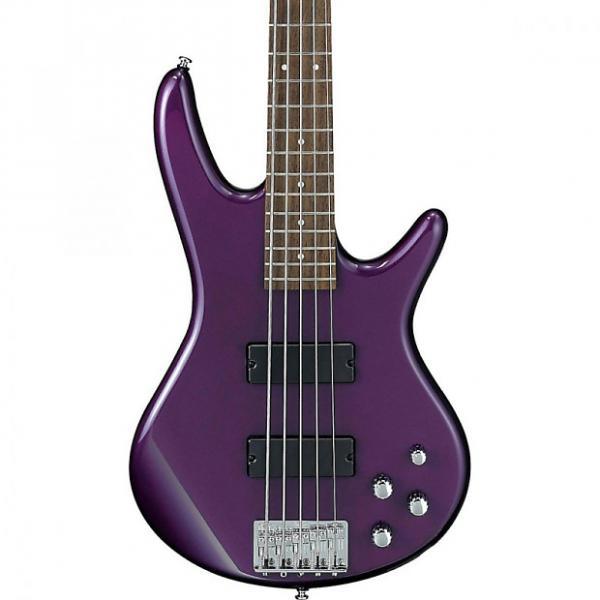 Custom Ibanez GSR205 5-String Electric Bass Guitar Deep Violet Metallic #1 image