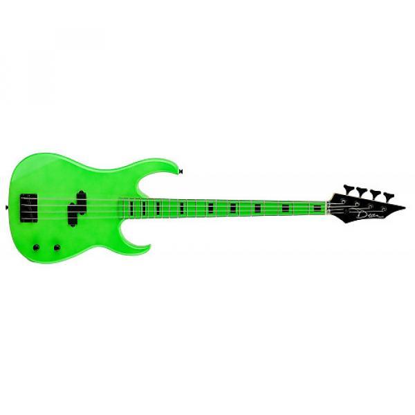 Custom Dean Custom Zone Bass, Nuclear Green #1 image