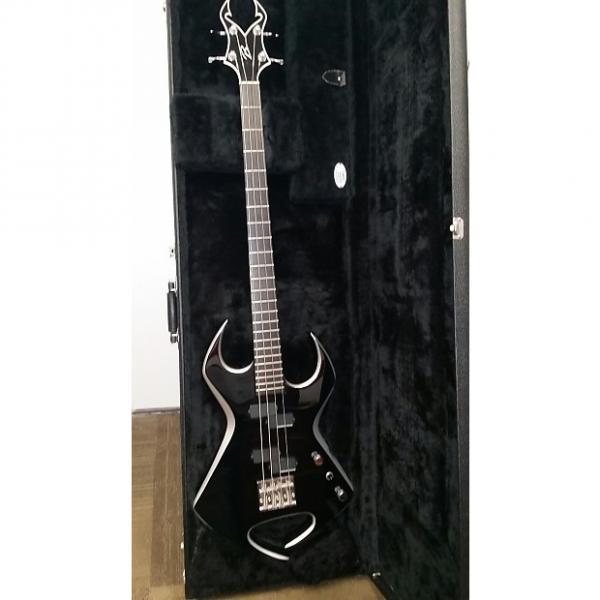 Custom Bernie Rico Jr. - BC Rich Menace Bass 2007 Black Gloss w/Silver Bevels #1 image