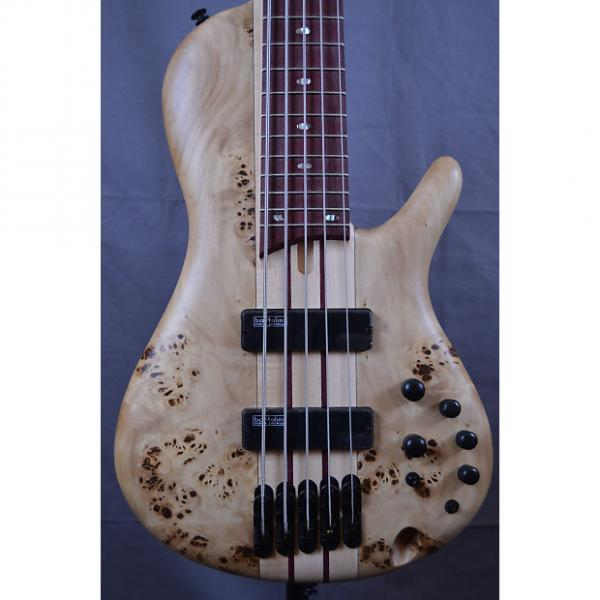 Custom Ibanez SRSC805 Cerro Single Cut Bass Guitar 2017 Natural #1 image