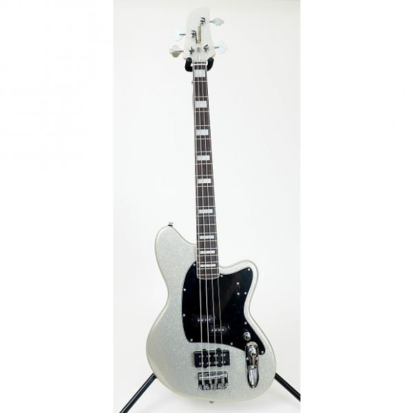 Custom Ibanez TMB310  Electric Bass Guitar - Silver Sparkle #1 image
