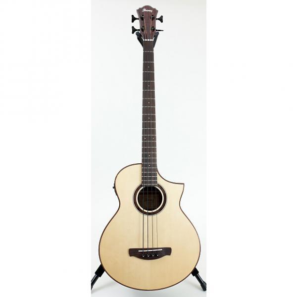 Custom Ibanez AEWB20NT Acoustic-Electric Bass Guitar #1 image