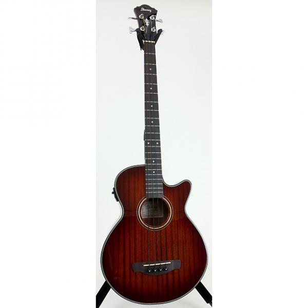 Custom Ibanez AEGB14E Acoustic Electric Bass Guitar #1 image