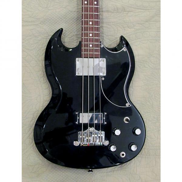 Custom Epiphone Elitist Japan EB-3 2000's Black #1 image
