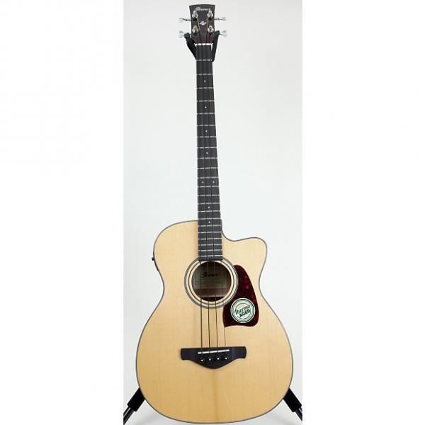 Custom Ibanez Artwood AVCB9CE Acoustic Bass Guitar #1 image